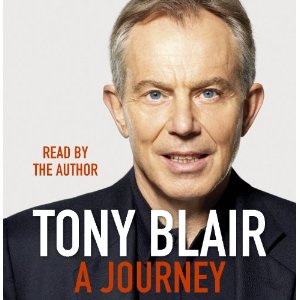 That's why I'm doubly struck by Tony Blair writing in his autobiography and ...