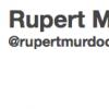 Rupert Murdoch on Twitter