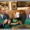 Boris Johnson in Starbucks